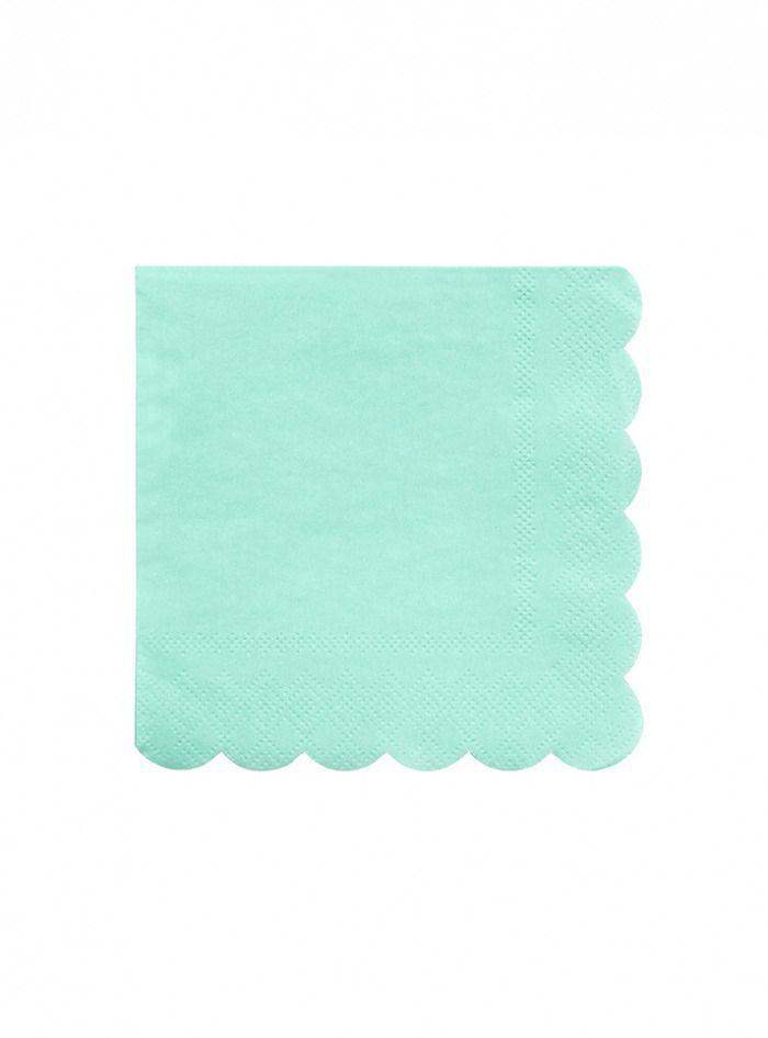 Χαρτοπετσέτα Μεγάλη στο χρώμα της Μέντας Mint - ΚΩΔ:181216-JP