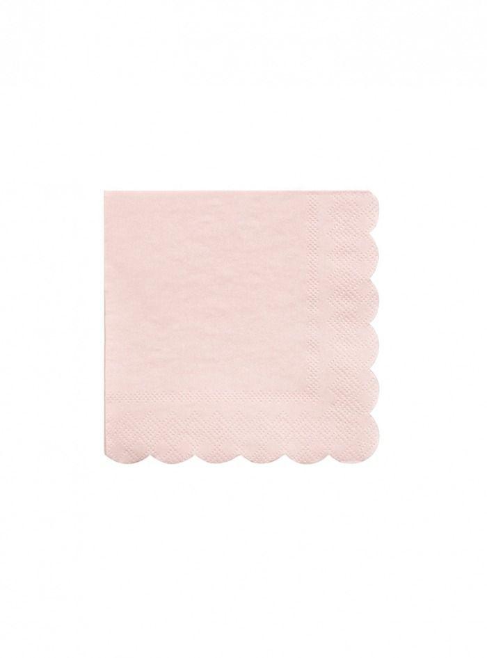 Χαρτοπετσέτα Μικρή σε ροζ χρώμα - ΚΩΔ:181270-JP