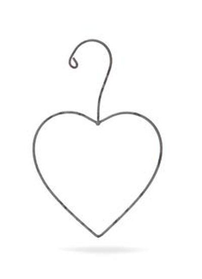 ΚΡΕΜΑΣΤΡΟΥΛΑ ΚΑΡΔΟΥΛΑ ΓΚΡΙ 10X16ΕΚ - ΚΩΔ:101841-GN