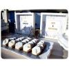 ΣΤΟΛΙΣΜΟΣ ΓΑΜΟΥ MINIMAL ΛΕΥΚΟ - ΧΡΥΣΟ ΓΕΩΜΕΤΡΙΚΟ - ΚΩΔ:DP-0610