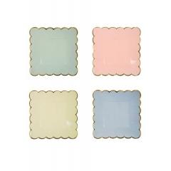 Pastel Πιάτο Γλυκού 8τμχ - ΚΩΔ:140887-JP
