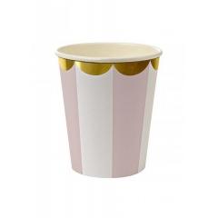 Dusty Pink Ποτήρι 8τμχ - ΚΩΔ:143191-JP