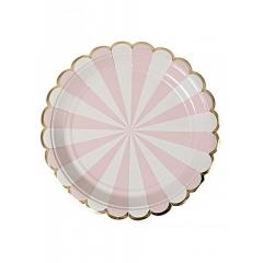 Dusty Pink Πιάτο Φαγητού 8τμχ - ΚΩΔ:143218-JP