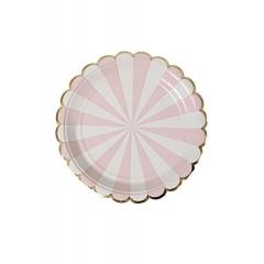 Dusty Pink Πιάτο Γλυκού 8τμχ - ΚΩΔ:45-2121-JP