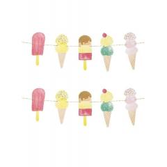 Γιρλάντα We Heart Ice Cream Cream - ΚΩΔ:ICE-GARLAND-JP