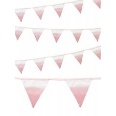 Ροζ Υφασμάτινη Γιρλάντα - ΚΩΔ:PINK-FABBUNT-JP