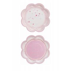 Χάρτινο Πιάτο Pink & Mix - ΚΩΔ:PK-PLATE-V2-JP