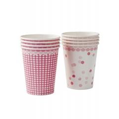 Χάρτινο Ποτήρι Pink & Mix - ΚΩΔ:PK-CUP-V2-JP