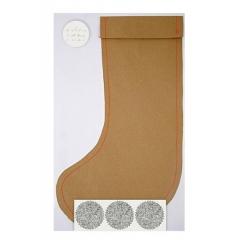 Τσάντα Δώρου Μεγάλη Kraft Κάλτσα - ΚΩΔ:44-0151-JP