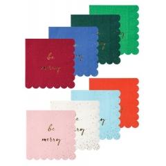 Χαρτοπετσέτες Μικρές Be Jolly Be Merry - ΚΩΔ:45-2404-JP
