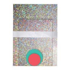 Φάκελοι Μεταλιζέ Sparkly Silver - ΚΩΔ:45-2535-JP
