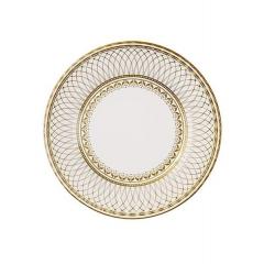 Porcelain Gold Πιάτο Φαγητού - ΚΩΔ:PPG-PLATE-LRG-JP
