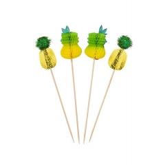 Tropical Fiesta Toothpicks - ΚΩΔ:FST2-PINEAPPLEPICK-JP