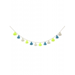 Υφασμάτινη Γιρλάντα κίτρινο-μπλε - ΚΩΔ:157618-JP