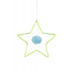 Υφασμάτινο Κρεμαστό Αστέρι - ΚΩΔ:157825-JP