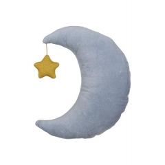 Βελούδινο Μαξιλάρι Φεγγάρι - ΚΩΔ:157852-JP