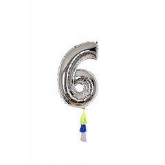 Μεταλλικό Μπαλόνι Νο6 - ΚΩΔ:154513-JP