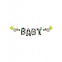 BABY Balloon Garland - ΚΩΔ:154567-JP