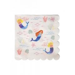 Χαρτοπετσέτες Let's Be Mermaids - ΚΩΔ:156034-JP
