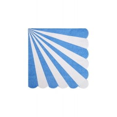 Χαρτοπετσέτες Μικρές Ριγέ Μπλε - ΚΩΔ:157096-JP