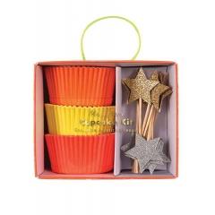 Αστεράκια Cupcake Kit - ΚΩΔ:158545-JP