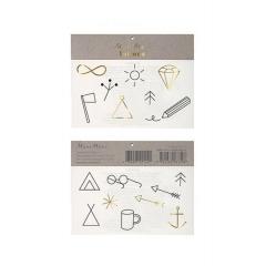 Τατουάζ Σύμβολα Camping - ΚΩΔ:45-2906-JP