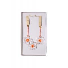 Crochet Daisy Κολιέ - ΚΩΔ:158761-JP