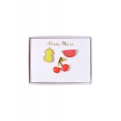 Καρφίτσες Φρούτα - ΚΩΔ:160840-JP