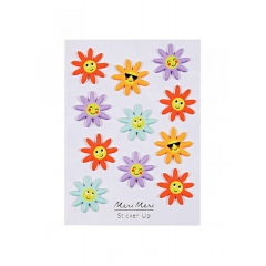 Happy Flower Φουσκωτά Αυτοκόλλητα - ΚΩΔ:160201-JP