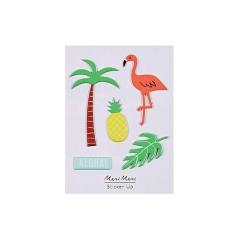 Αυτοκόλλητα Φουσκωτά Aloha - ΚΩΔ:160228-JP