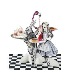 Τριπλό Σετ Κεράσματος Alice - ΚΩΔ:TSALICE-TRIOSTANDS-JP