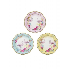 Πιάτα Γλυκού Flamingo - ΚΩΔ:TSFLAMINGO-PLATE-JP