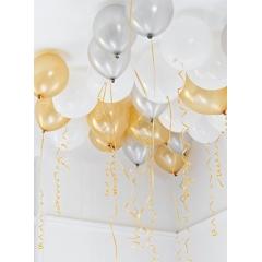 Μπαλόνια με μεταλλιζέ χρώμα - ΚΩΔ:GLIT-BALLOONCEIL-JP