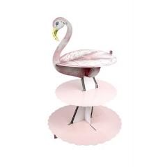 Stand Φαγητού Flamingo - ΚΩΔ:TSFLAMINGO-CAKSTAND-JP