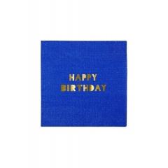 Χαρτοπετσέτα Μικρή Happy Birthday - ΚΩΔ:132958-JP