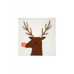 Χαρτοπετσέτες Reindeer - ΚΩΔ:45-2949-JP