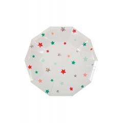 Πιάτο γλυκού με  αστεράκια - ΚΩΔ:45-2972-JP