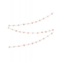 Γιρλάντα Κουβαρίστρα με Ιριδίζοντα Αστέρια - ΚΩΔ:45-3008-JP