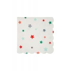 Χαρτοπετσέτα μικρή με Αστεράκια - ΚΩΔ:45-3013-JP