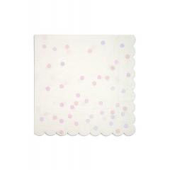 Χαρτοπετσέτες Μεγάλες Ιριδίζοντα Confetti - ΚΩΔ:163027-JP