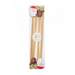 Sticks Ανάδευσης Ποτών Santa & Reindeer - ΚΩΔ:45-3058-JP