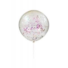 Γιγαντιαίο Μπαλόνι Ιριδίζοντα Confetti - ΚΩΔ:164134-JP