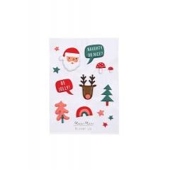 Αυτοκόλλητα Φουσκωτά Christmas Party - ΚΩΔ:45-3075-JP