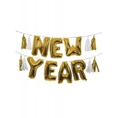 Μπαλόνια Foil Γιρλάντα New Year - ΚΩΔ:45-3096-JP