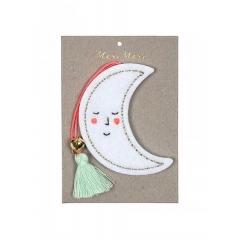 Χριστουγεννιάτικο Στολίδι Φεγγάρι - ΚΩΔ:60-0047-JP