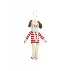 Χριστουγεννιάτικο Στολίδι Σκυλάκι - ΚΩΔ:60-0061-JP