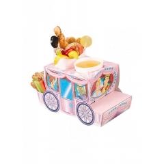 Χάρτινο tray  φαγητού με θέμα άμαξας πριγκίπισσας - ΚΩΔ:1-GS-301-JP