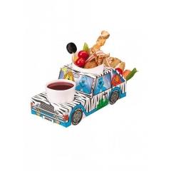 Χάρτινο tray  φαγητού με θέμα ζούγκλα - ΚΩΔ:1-gs-107-JP