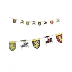 Κρεμαστές γιρλάντες Ιππότες - ΚΩΔ:109702-JP
