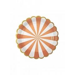 Πιάτο γλυκού TS Orange Stripe - ΚΩΔ:124210-JP